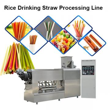 Single Screw Extruder Macaroni Pasta Degradable Drinking Straw Processing Line Making Machine