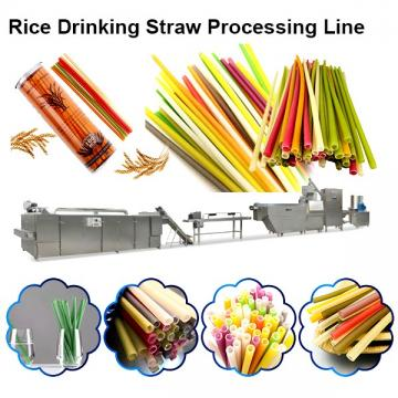 Vegetable Straws Edible Rice Drinking Straws Pasta Rice Straws Making Machinery