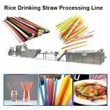 Hot Sale Rice Drinking Straw Processing Line Pasta Macaroni Straw Food Making Machine